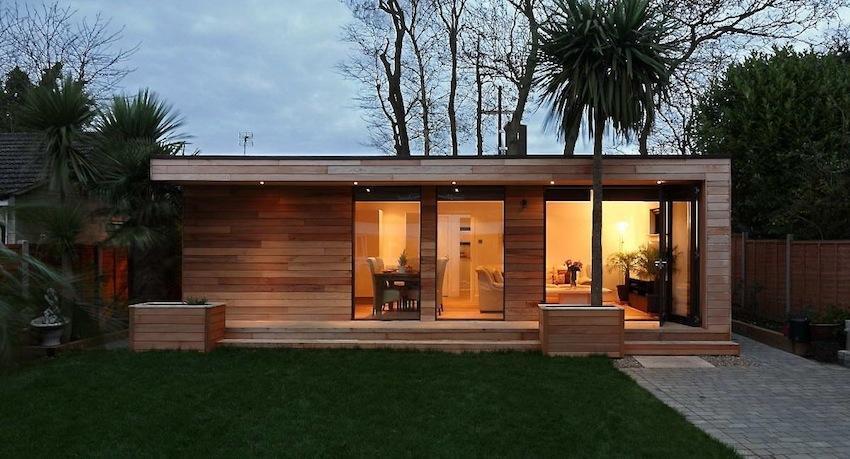 Casas de madera prefabricadas en España