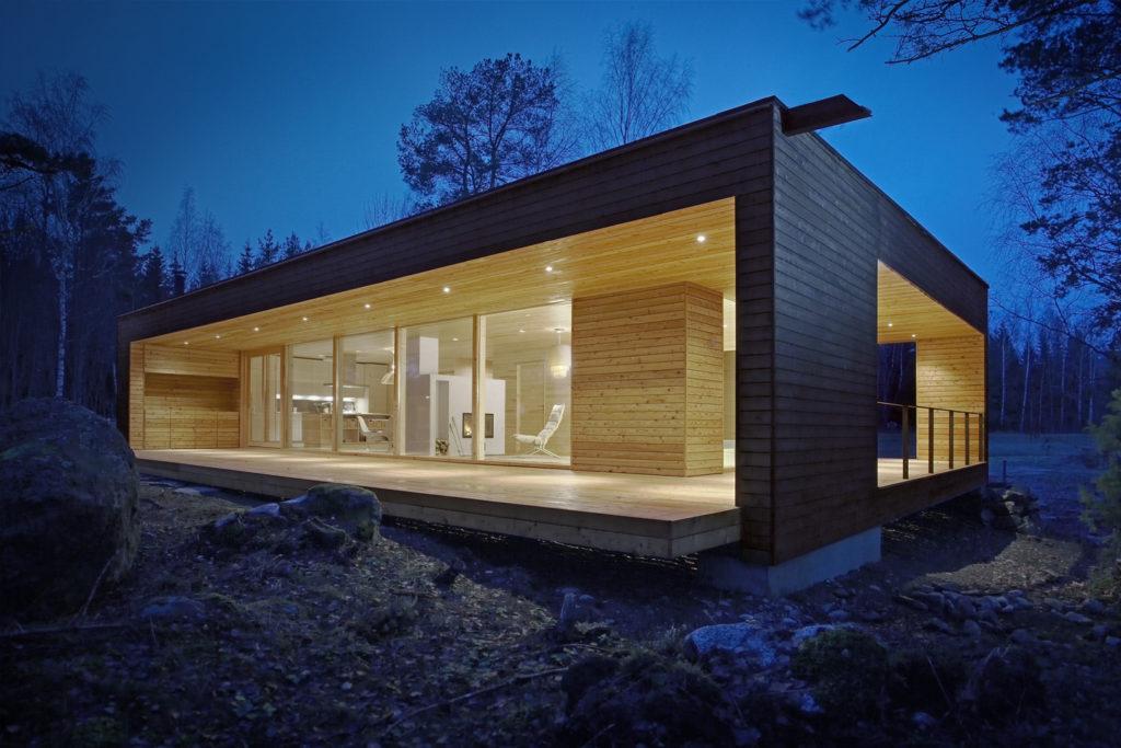 Casa de madera de segunda mano