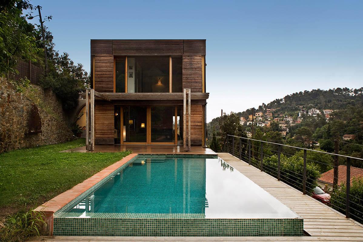 Casas de madera de dise o casas prefabricadas modulate - Disenos de casas de madera ...