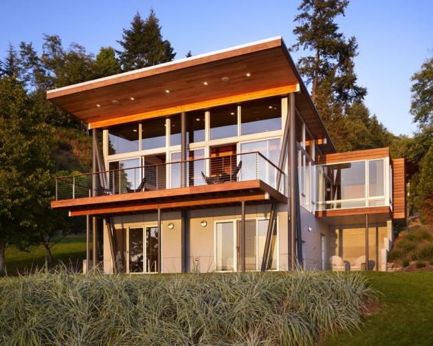 La moda de las casas de madera